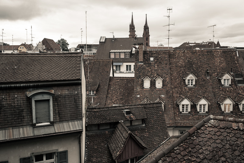 Basel from the roofs - Switzerland