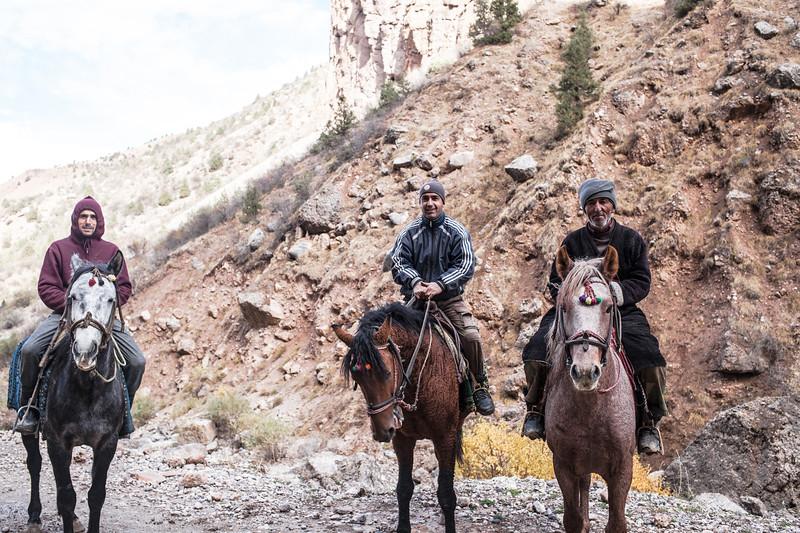 Three Horses (Tajikistan)