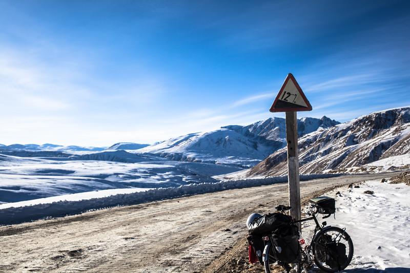 Steep climb (tajikistan)