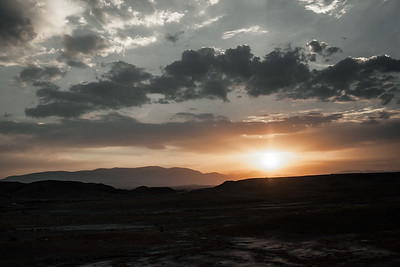 Sunset near Maku (Iran)