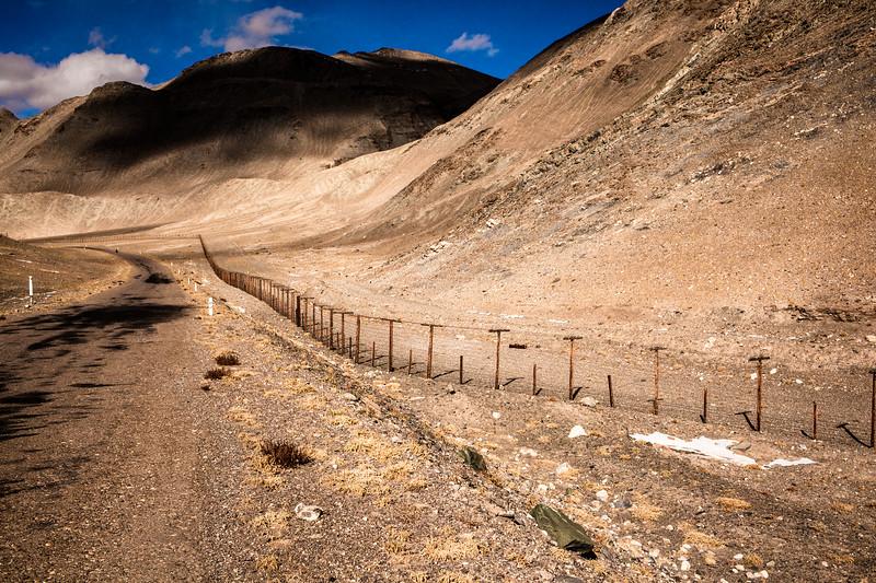 Chineese border, Tajikistan