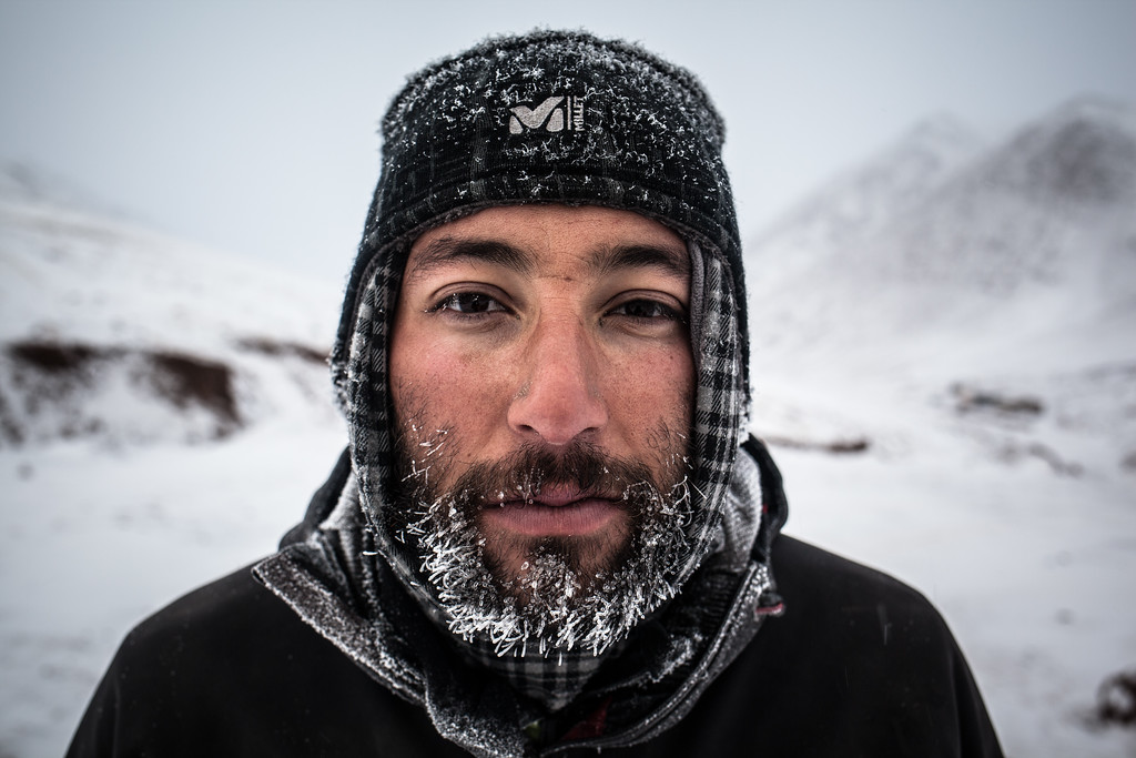Pamir finisher face, Tajikistan