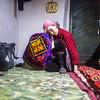 Cradling the baby, Tajikistan