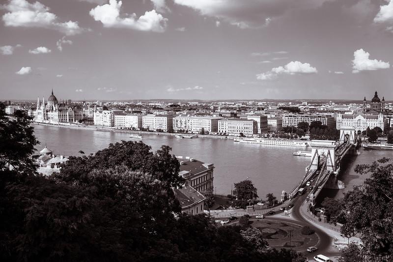 Pest from Buda, Budapest