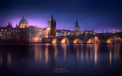 Prague Blue Hour