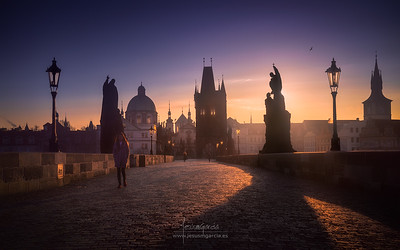 Prague Sunrise