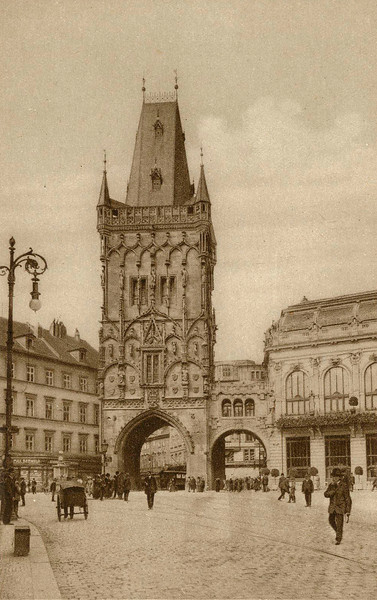 1900, Powder Tower
