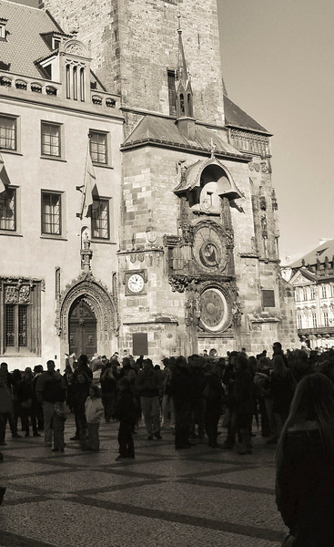 2012, Böhmische Rathausuhr, Bohemian Clock