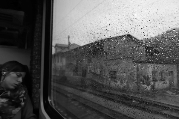 Travelling by train to Prague