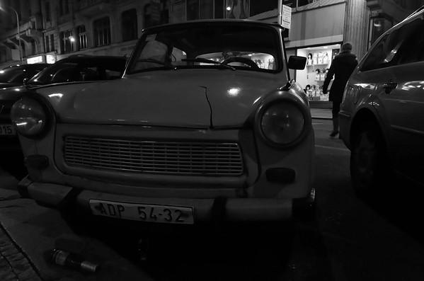 Trabant, Prague