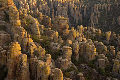 The bizarre hoodoos of the Chiricahua Mountains in southern Arizona.