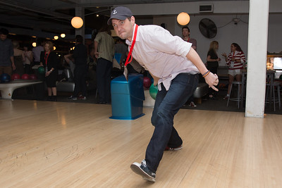A guest bowls at the SAG Indie Party during the 2017 Dallas International Film Festival at the Bowlounge in Dallas, Texas on April 5,2017. (Photo by Sam Hodde for the Dallas International Film Festival)