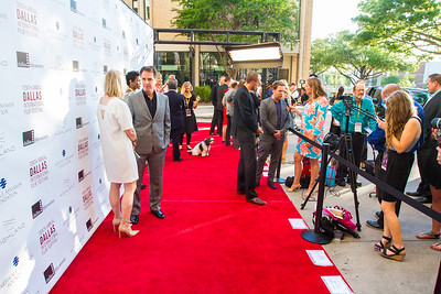 Filmmakers walk the red carpet before the Dallas Film Society Honors Award Ceremony at the 2016 Dallas International Film Festival. The Events took place at The Highland in Dallas. (Photo by Sam Hodde)
