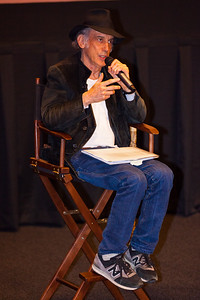 Ed Lachman discusses his career after a screening of 'Far From Heaven' at the 2016 Dallas International Film Festival. The screening took place at the Alamo Drafthouse DFW. (Photo by Sam Hodde)