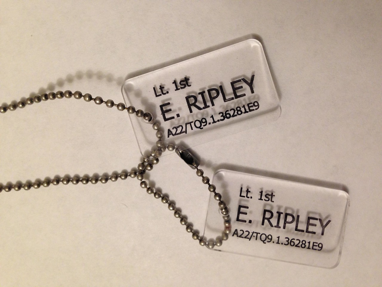 The Finished Tags