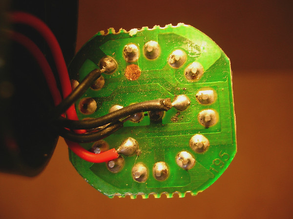 Rear of the Circuit Board