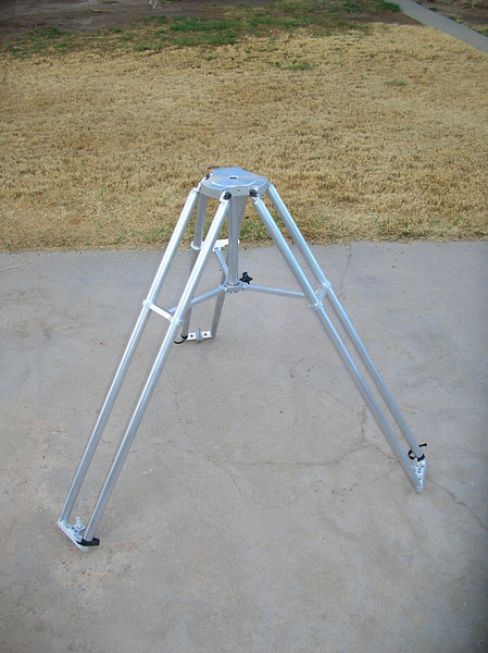 ... And the finished Tripod, less the Astro-Physics Adapter for the Mach1GTO