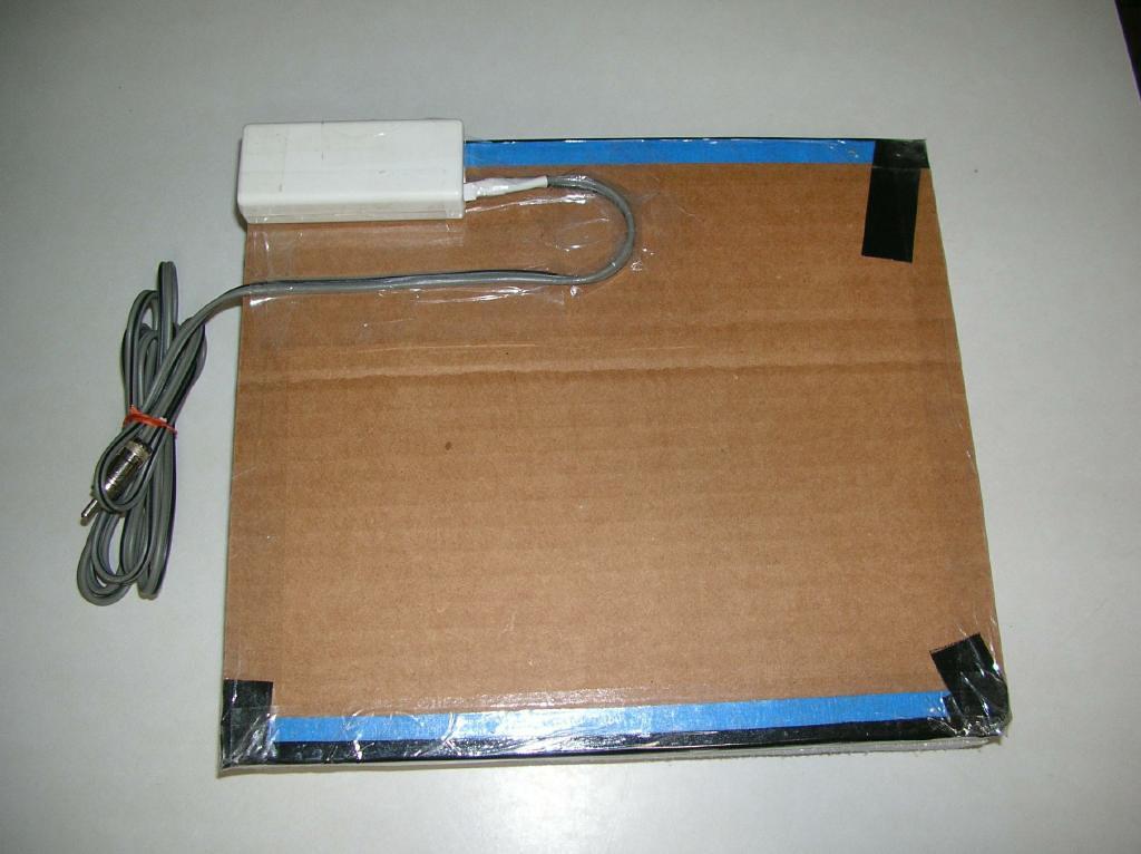 Rear of my trimmed laptop back-light flat panel