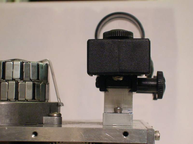 Rear detail of the Red-Dot Finder mount.