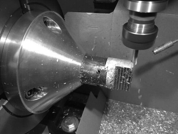Machining with plenty of clearance