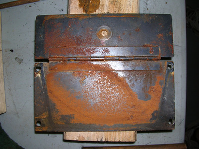 Before Rust Removal