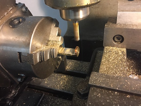 Rotary Axis on the Bridgeport