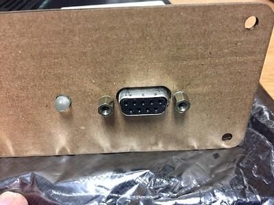 Laser cut test fit-Fiber side