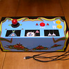 Completed Galaga controller