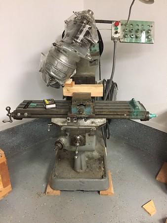 Lift the machine off the floor