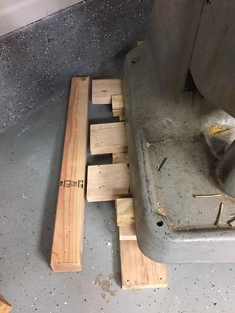 Slide in pallet materials