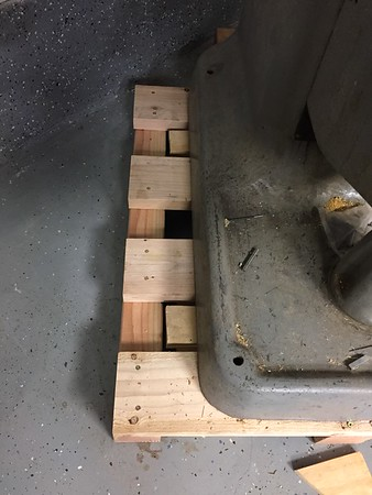 Screws are down and tight