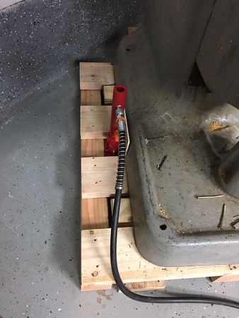 Pallet is ready for screws