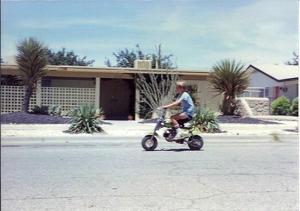 Eric on the QA50 ~ 1975