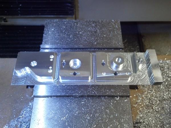 Grating mount parts