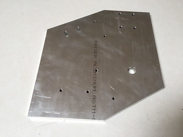 Base plate for initial assembly