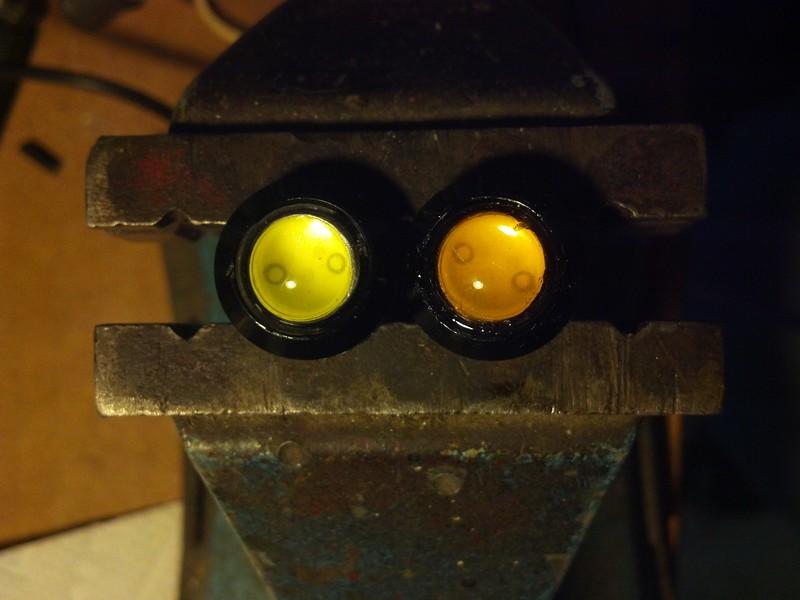 Original vs. Warmer LED