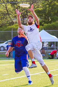 The Dallas Roughnecks take on the Austin Sol in their second game of the 2016 AUDL season at House Park in Austin, Texas. (Photo by Sam Hodde/Hodde Visuals)