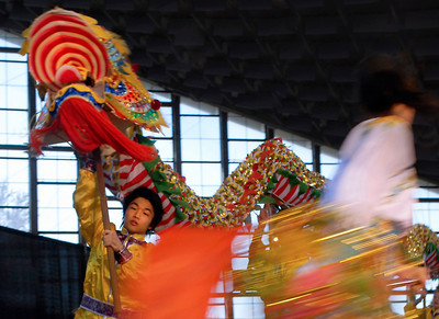 """Chinese New Years celebration - dragon dance' (nikon d200)"