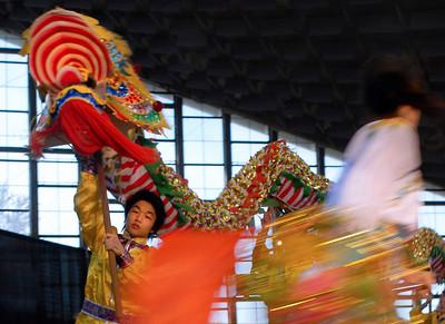 """Chinese New Years celebration - dragon dance' (nikon d200)"