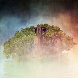 Ghostly Garden Shipwreck