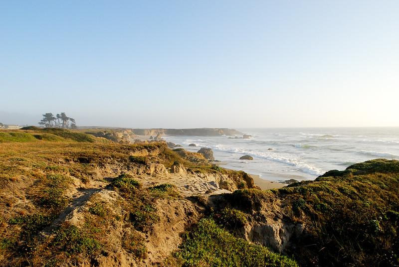 Sandy Bluffs of Fort Bragg ~ Pacific Coast