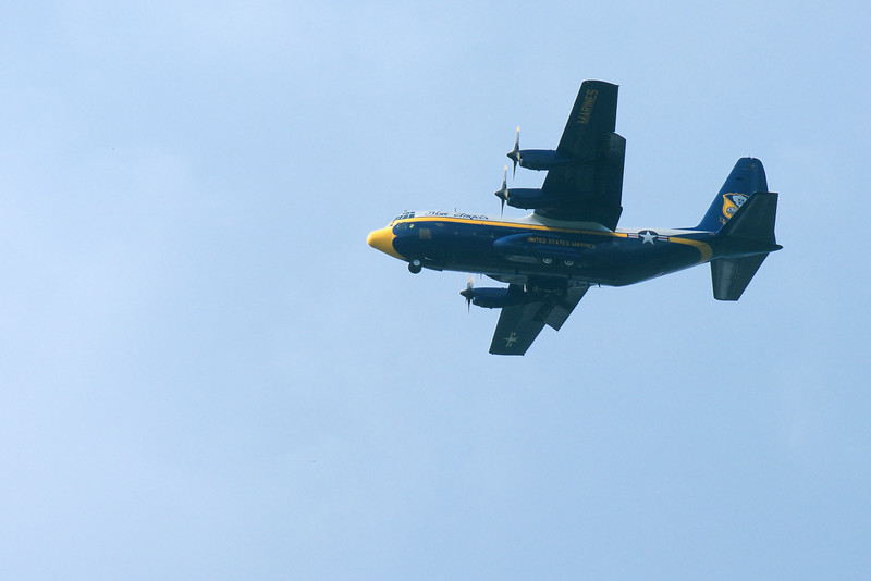 "U.S. Marine Corps C-130T ""Fat Albert"" ~ Thunder Over Michigan ~ August 2015"