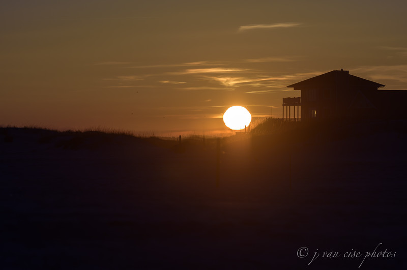 Island Sunset ~ Southern Outer Banks