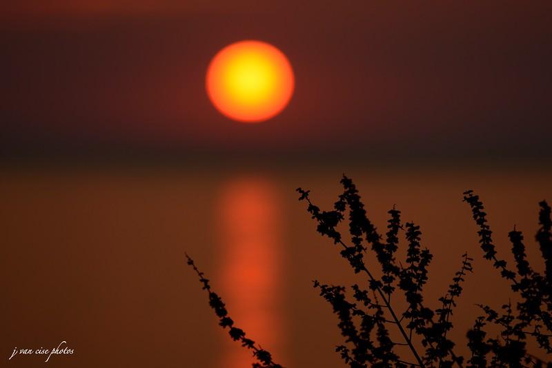 Sunset ~ Lake Michigan