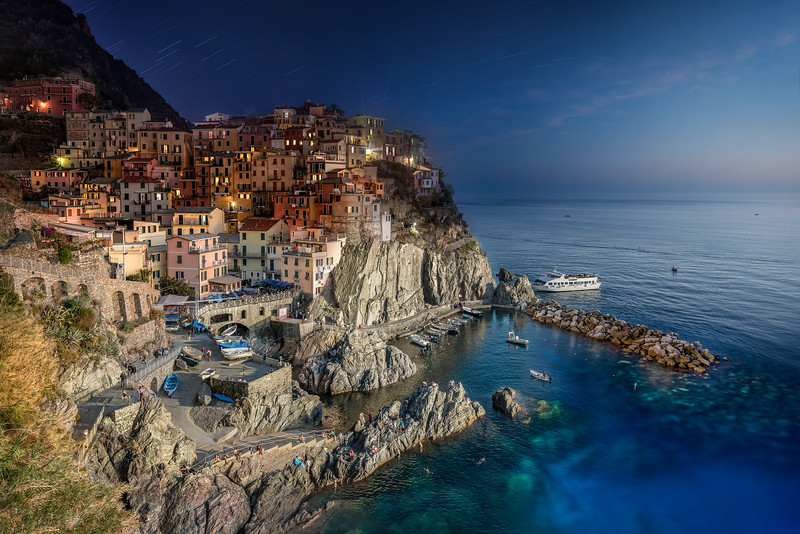 Manarola Day to Night