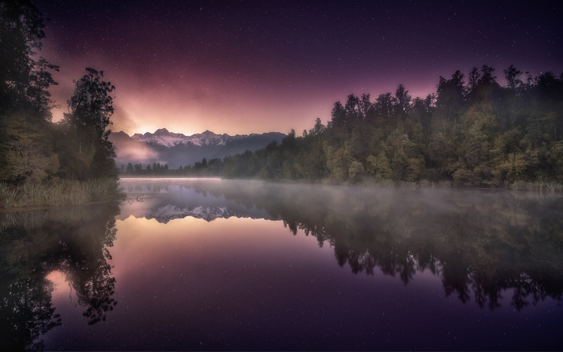 Lake Matheson Sunrise