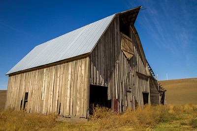 Abandoned Barn ~ Whitman County, Washington