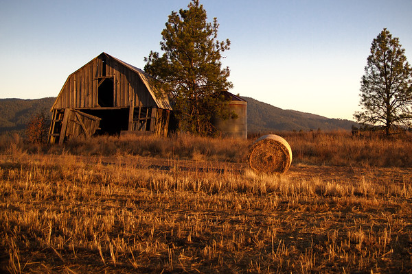 Rathdrum Barn ~ Rathdrum, ID