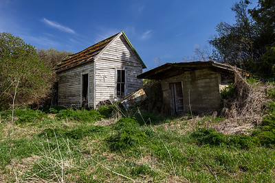 Abandoned Outbuildings ~ Whitman County