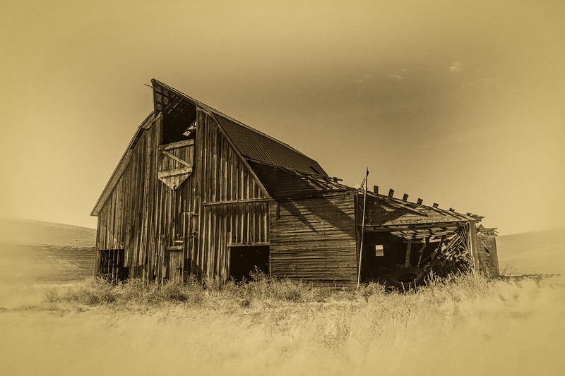 Another barn in Whitman County